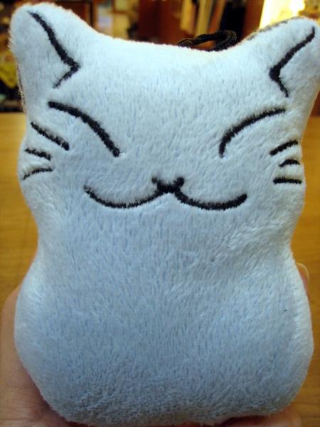 貓雪人螢幕擦 藍