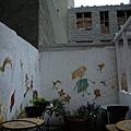 土耳其餐廳的外推路天座位