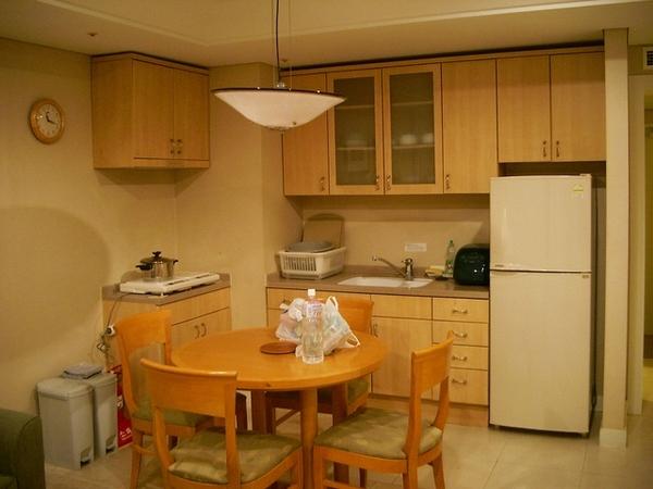 奧麗山莊的兩人房--廚房