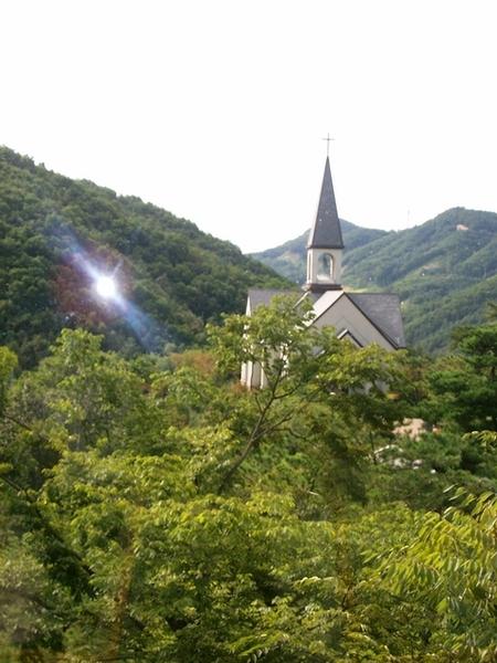 奧麗山莊的教堂