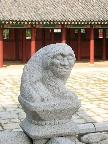 景福宮的石雕