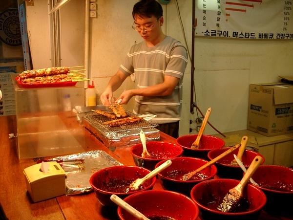 梨花大的好吃烤肉串