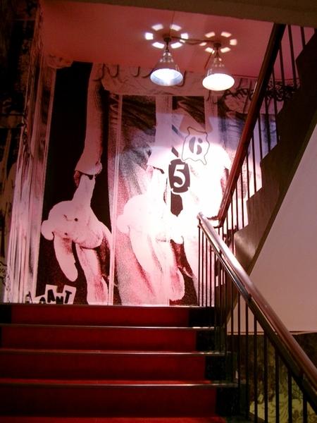 IOIO的設計感樓梯間