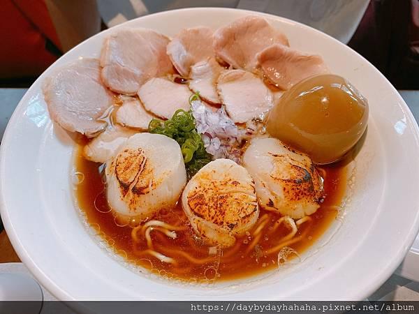 【台北食記】(捷運公館站)墨洋拉麵 - 炙燒干貝和貝系醬油湯底都很厲害