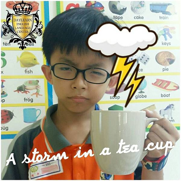 #4 A storm in a tea cup