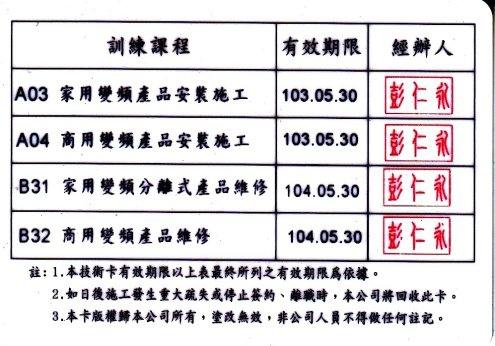 楊慶榮日立技術卡反1