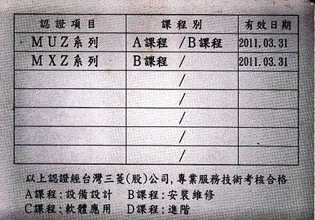 楊慶麒三菱技術卡反