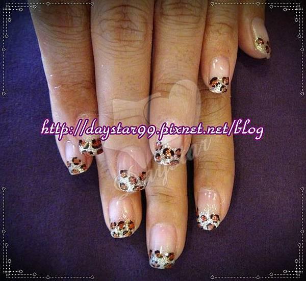 豹紋物語《光療指甲》
