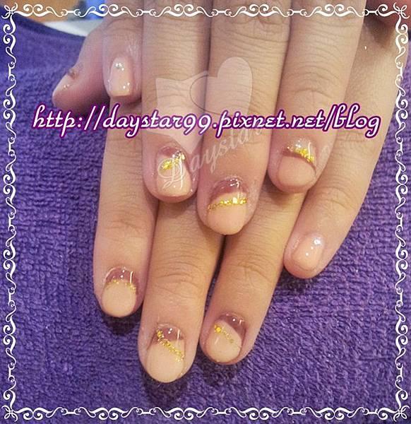 變化形光療法式指甲《光療指甲》