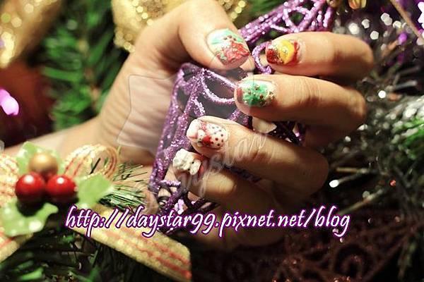 耶誕狂響曲光療指甲