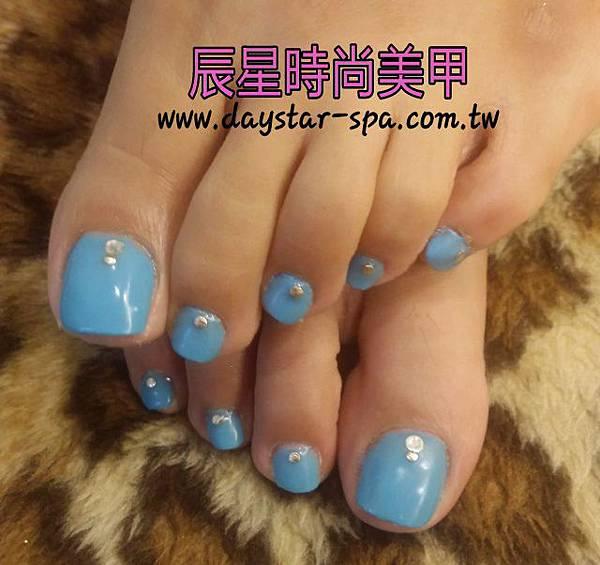 足部指甲光療