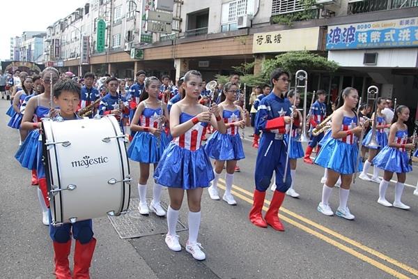彰化雙十國慶樂隊遊行-幸福彰化26.JPG