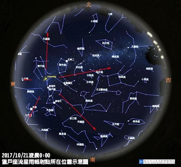 獵戶座流星雨輻射點所在位置示意圖.jpg