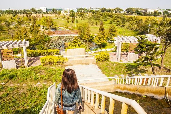 秀水龍騰公園流水梯的造景2.jpg