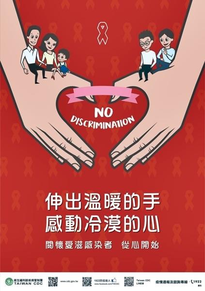 愛滋去歧視!12月1日世界愛滋病日尊重與關懷.jpg