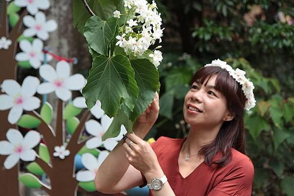 彰化福田賞桐生態園區-福田生態社區桐花步道1.JPG