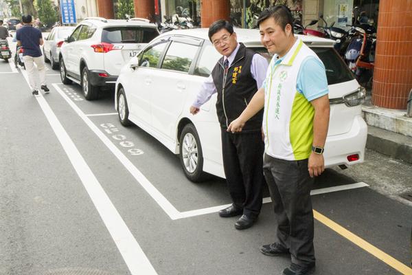 彰化市路邊停車收費成效會勘 彰警啟動專案強力取締違停2.png