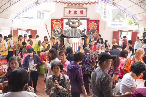 觀音菩薩出家紀念日 彰化開化寺舉辦十供祭典2.png