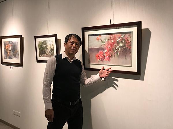 林裕清水彩畫展 彰化生活美學館展出3.png
