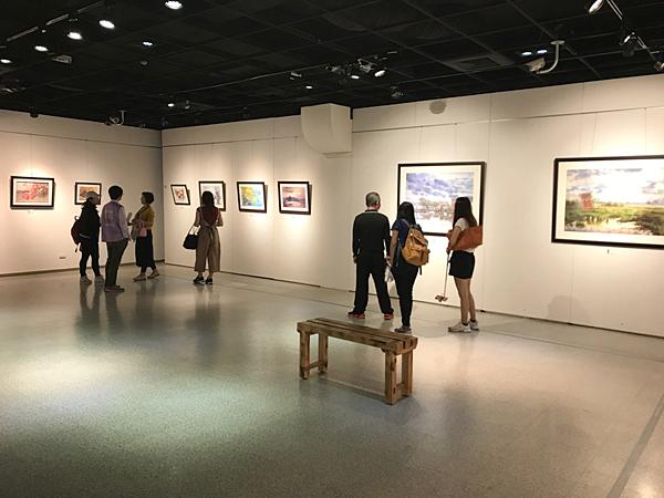 林裕清水彩畫展 彰化生活美學館展出6.png