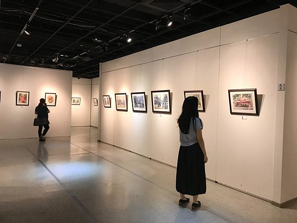 林裕清水彩畫展 彰化生活美學館展出7.png