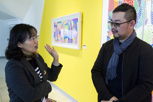 感受藝術家筆下燦燦光彩 曾雍甯個展盡在彰化縣立美術館3.png