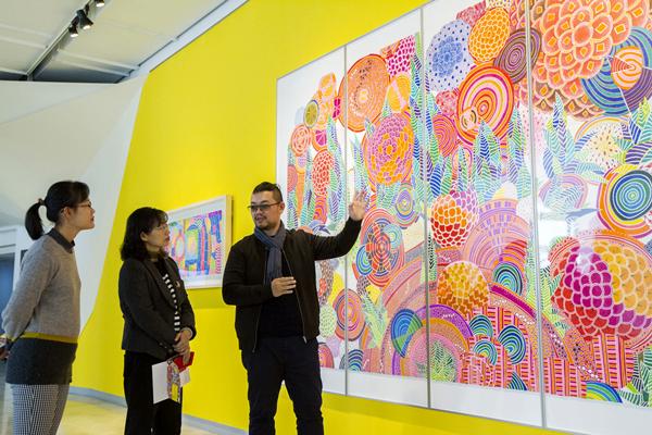 感受藝術家筆下燦燦光彩 曾雍甯個展盡在彰化縣立美術館1.png