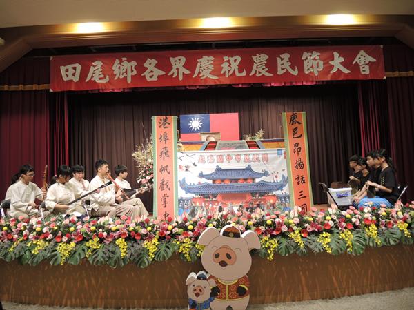田尾鄉農會慶祝農民節很特別 鹿港國中掌中劇揭序幕1.png