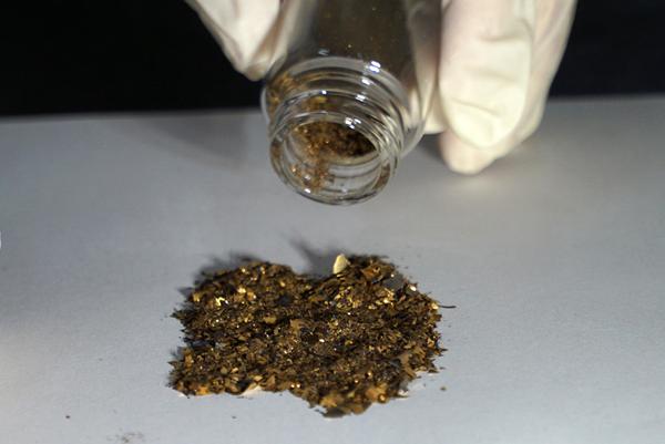 大葉大學環工系李清華教授協助滿益金科技回收製程衍生物的黃金.png