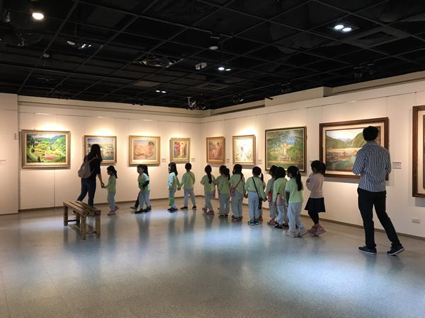油畫家的聚合 臺中市油畫家協會「軌跡」畫展1.png