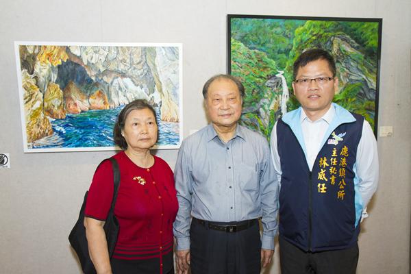 郭煥材與陳淑美伉儷返鄉聯展 4月14日前鹿港公會堂展出1.png