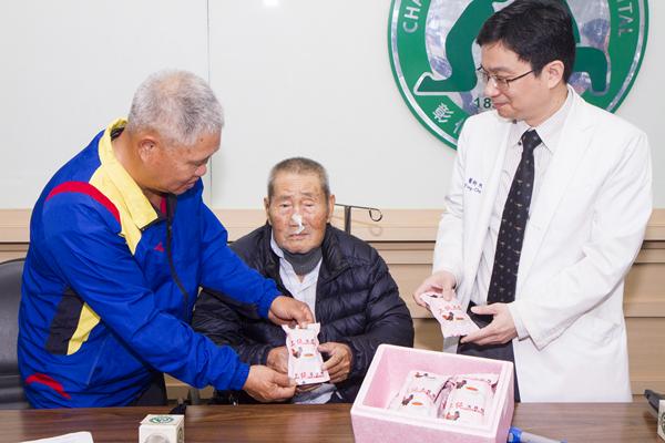 8旬老翁心臟衰竭 彰基堅強醫療團隊TAVI手術救命2.png
