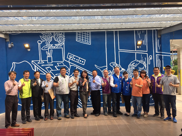 華南國小藍晒圖打卡景點 校園歡慶55週年生日與社區共讀站揭牌1.png