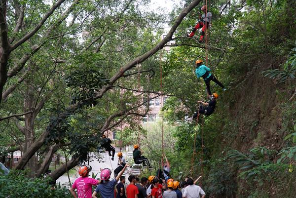 攀樹體驗 大葉大學「城鄉與社區概論」開啟學生新視角1.png