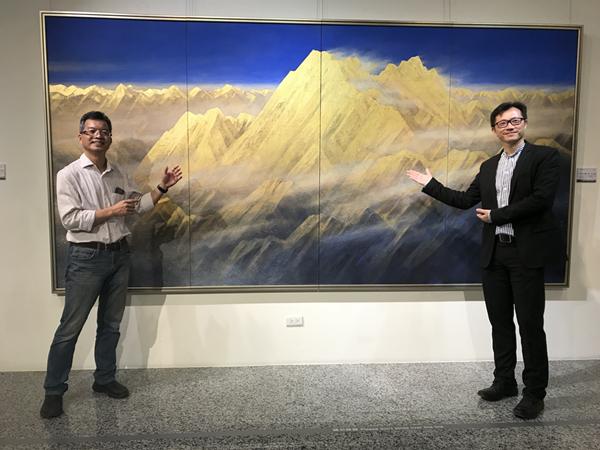 高永隆個展《行旅光譜》 用膠彩畫展現大自然的千變萬化2.png