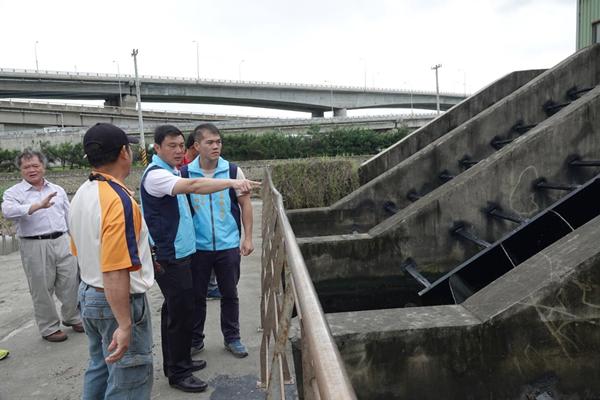 鹿港溪清淤工程今起動工 許志宏視察確保排水通暢1.png