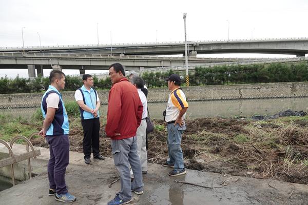 鹿港溪清淤工程今起動工 許志宏視察確保排水通暢2.png