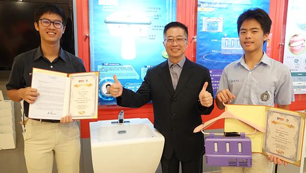 「台灣愛迪生」鄧鴻吉帶領學子於發明界闖出一片 科技創意未來之星殊榮2.png