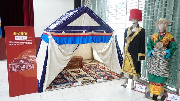 彰化生活美學館游藝堂搭蒙古包 民眾體驗蒙藏風情文化2.png