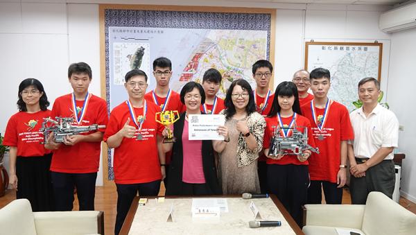 彰化子弟為國爭光 王惠美表揚世大運及樂高競賽冠軍選手1.png
