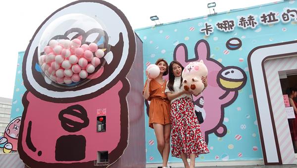 卡娜赫拉超萌現身台中草悟廣場 迪士尼公主一同夢幻登場1.png