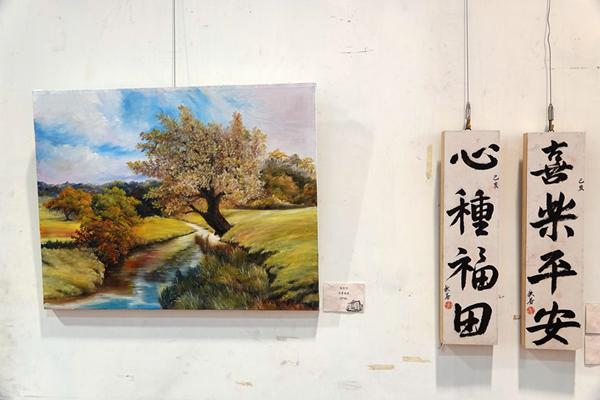鹿江詩書畫學會「妙在用筆」聯展 貼近漢字變化感受文化薰陶1.png