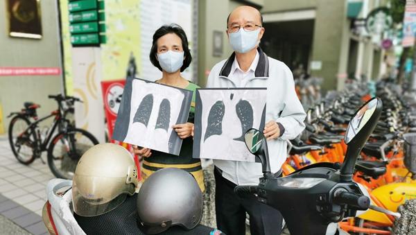 騎機車不戴口罩暴露空汙環境 台中牧師夫婦雙雙染肺腺癌1.png