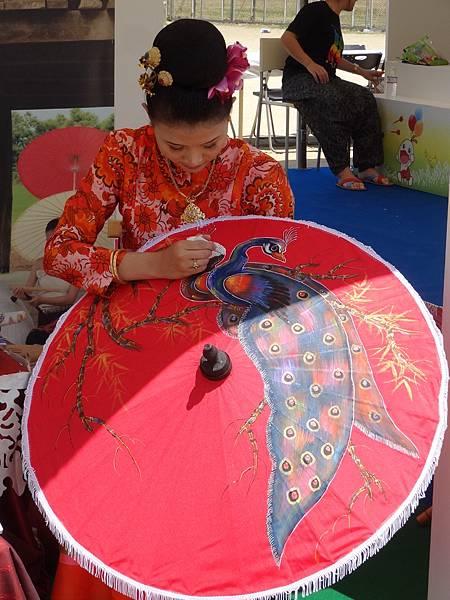 泰國北部紙傘