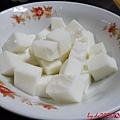 未煮過的杏仁豆腐