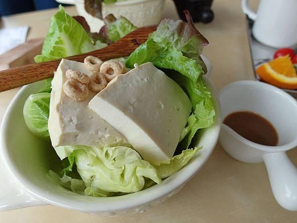 胡麻醬豆腐沙拉