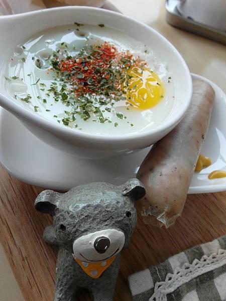 蛋盅、德式香腸