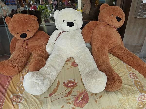 熊熊腿好長XDD