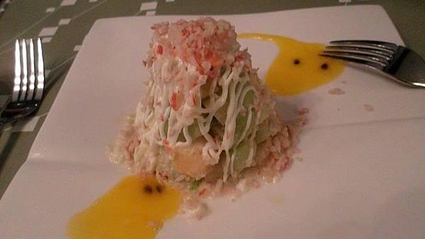 陶板屋*海鮮水果沙拉