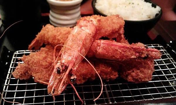 品田*沙朗豬排+香酥炸蝦